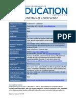 2015 standards fundamentals of cons