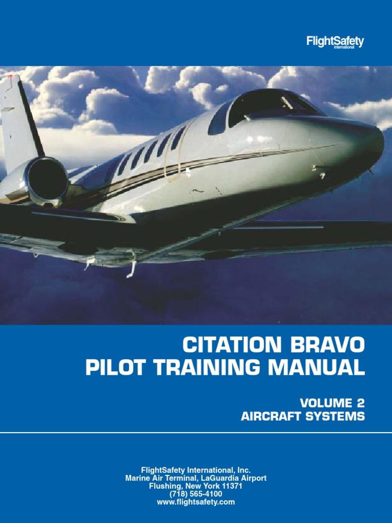 Cessna Citation Bravo Flight Safety Training Manual   Relay   Electric  Generator