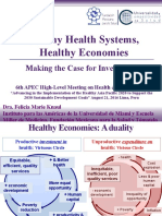 Healthy Health Systems,  Healthy Economies. Making the Case for Investment.