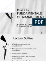 MGT162 - 1 INTRODUCTION TO MANAGEMENT DEC 2015.pptx