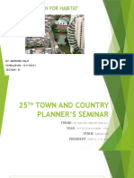 25th Town and Country Planning Seminar