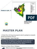 Ppt on Master Plan - Udhampur