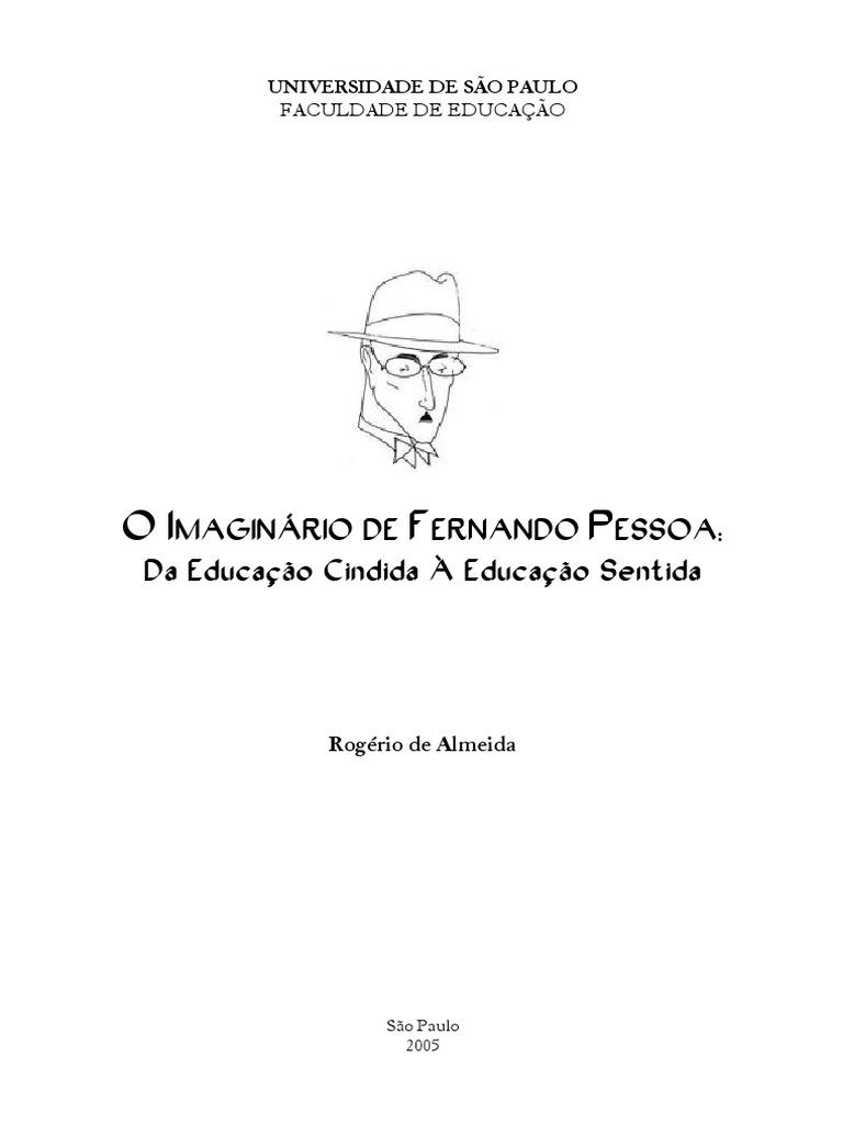 2ad40241e O Imaginário de Fernando Pessoa -Rogério de Almeida