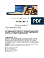 roofers pitch august 1 2016