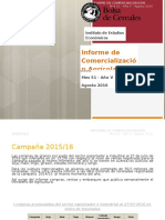 Informe sobre comercialización agrícola n° 51