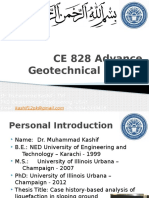 Introduction and Basic Concepts of Advance Geotechnical Design