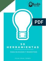 50 Herramientas Para Bloggers y Marketers
