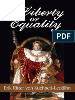 Liberty or Equality the Challenge of Our Time