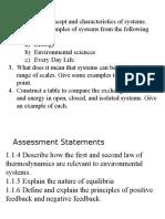 ecosystems   thermodynamics