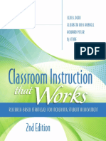Dean  Hubbell Pitler Stone - Classroom Instruction That Works