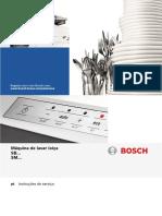 Máquina de Lavar Louça Bosch - Sms88ti03e