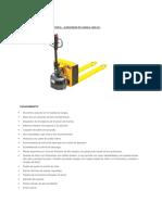 Zorra Hidraulica Semi - Electricapdf