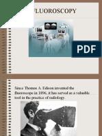 Fluoroscopy Conventional