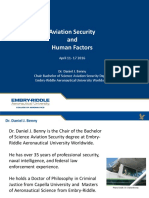 HFA MOOC M4 Aviation Security and Human Factors Presentation
