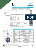 Model TL THROUGH CONDUIT KNIFE GATE VALVE