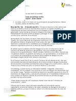 10 04 2011 - El gobernador, Javier Duarte de Ochoa, inauguró la primera Jornada Nacional de Intensificación de Lucha contra el Dengue