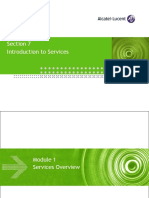 Section 7 - Introduction to Services