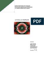 Concepto de Forma y Clasificación