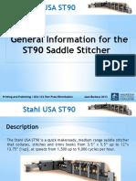 ST90 Saddle Stitcher