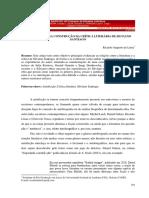A AUTOFICÇÃO NA CONSTRUÇÃO DA CRÍTICA LITERÁRIA DE SILVIANO SANTIAGO