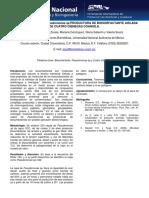 Caracterizacion de Pseudomonas Sp Productora de Biosurfactante