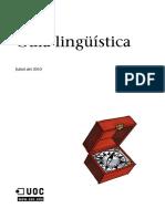 Guia Lingüistica Catalana UOC