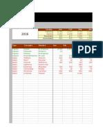 Pre Supuesto Excel