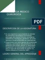 Patologia Medico Quirúrgica