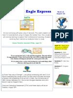 august 22-26 newsletter