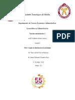 T4U4. Cuadro de Distribución de Actividades