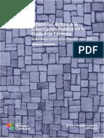 Informe Acceso a la información Pública  en La Ciudad de Córdoba-2014