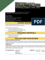 coronado biology syllabus 2016-2017