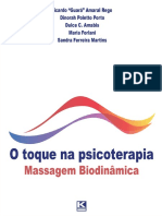 O Toque Na Psicoterapia Massagem Biodinamica Amostra