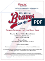 Braves Game Save the Date