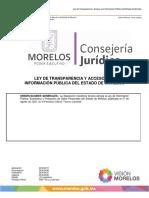 Ley de Transparencia Morelos