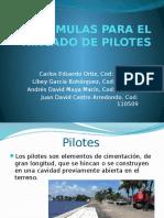 FORMULAS PARA EL HINCADO DE PILOTES