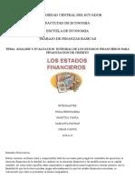 Analisis de Los Sistemas Finacieros