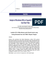 Jurnal Analisis DNA Mikrobioma