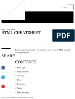 HTML Commands