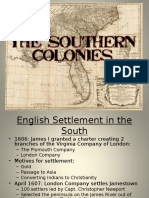 The Southern Colonies Powerpoint