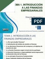 TEMA 1. Introduccion a Las Finanzas Empresariales, 15-16