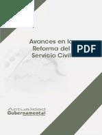 Avances en La Reforma del Servicio Civil - 2016-Sa-07, 157p