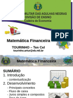 Matematica Financeira - AMAN - Cadetes - 2016