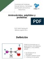 3 Aminoácidos Peptidos y Proteínas