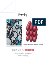 Lecture 2 - Porosity, Fluid Staturations, And OIIP
