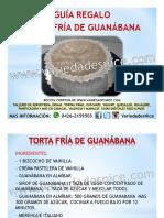 Guia Regalo Torta Fria de Guanabana Variedades Nice