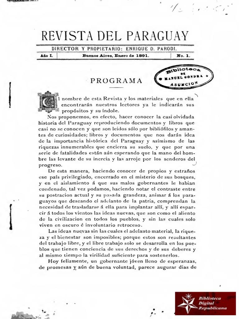 Revista del Paraguay 65a49e47de6