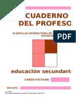 Cuaderno Del Profesor Completo en Excel Listo Para Usar Secundaria y BACH Excel 97