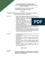 Sk Pendidikan Dan Pelatihan Internal Rsud