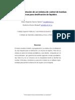 Diseño e Implementación de Un Sistema de Control de Bombas Peristálticas Para Dosificación de Líquidos - Mario Alejandro García Cabeiro, Guillermo Álvarez Bestard